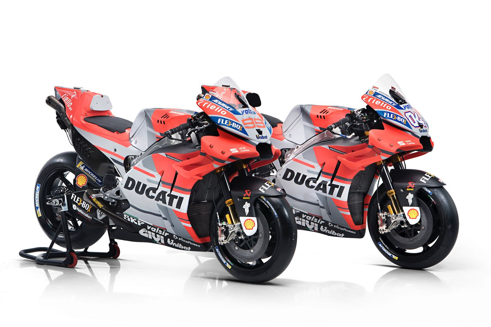 2018 Ducati MotoGP Bike & Riders Exposed: GP18, Dovizioso and Lorenzo