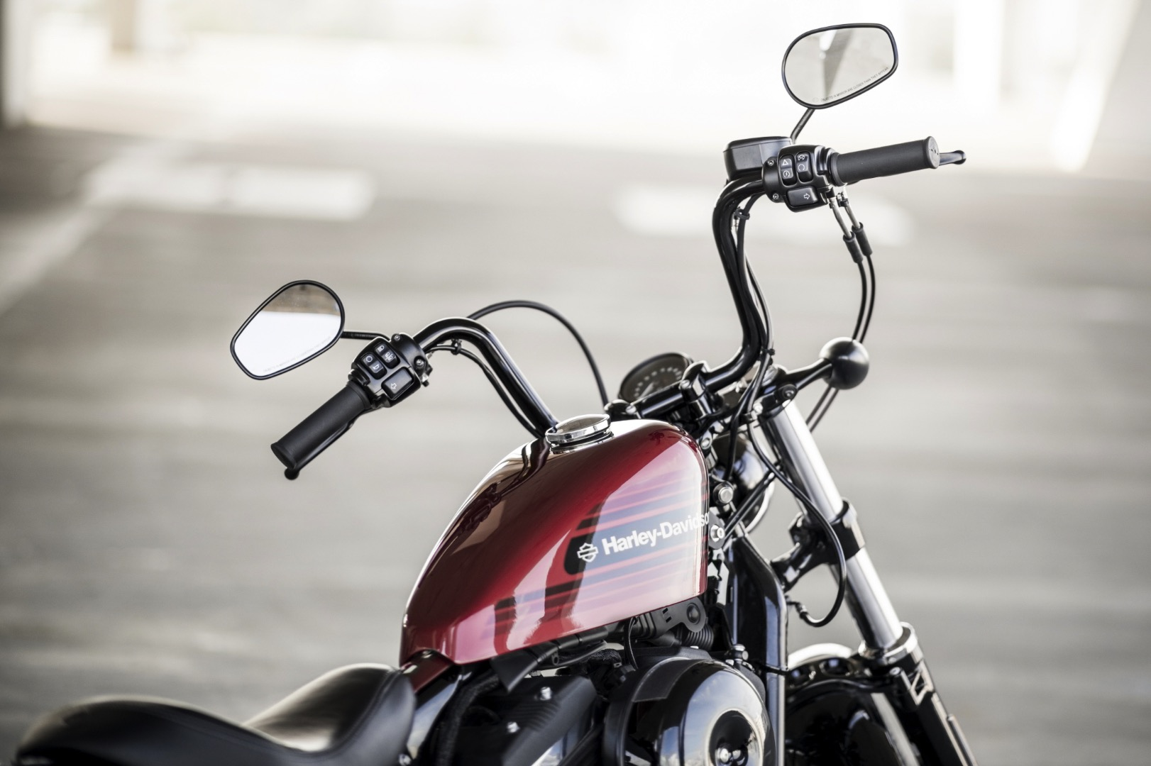 2018 Harley-Davidson Forty-Eight Special handlebars