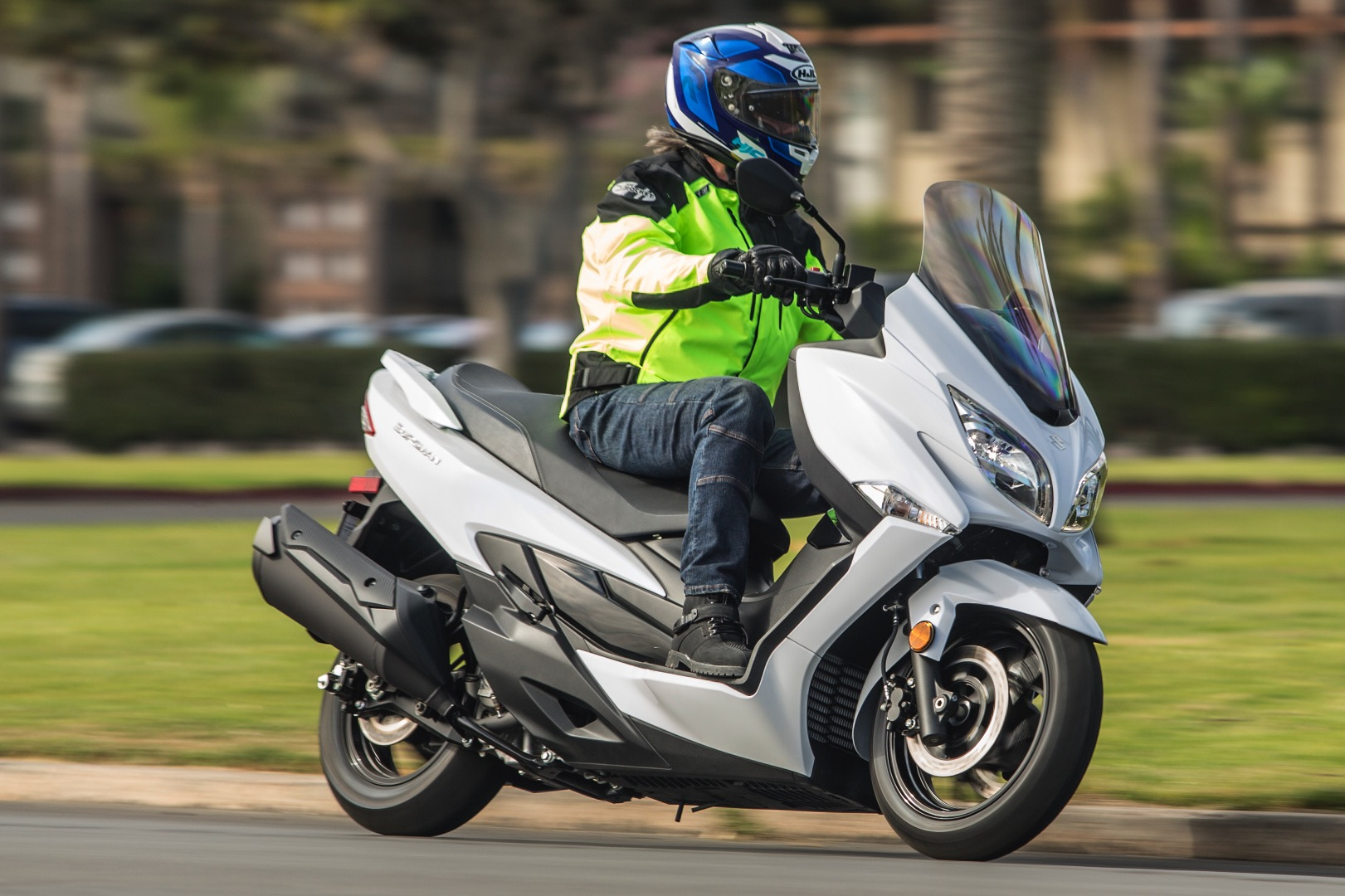 2018 Suzuki Burgman 400 scooter top speed