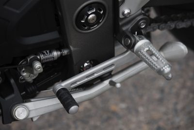 2018 Triumph Speed Triple shifter