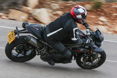 2018 Triumph Speed Triple ergonomics