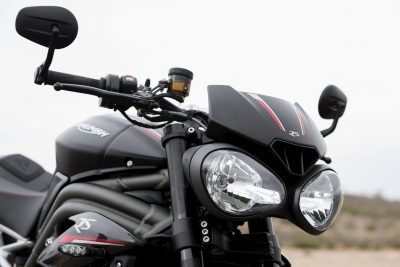 2018 Triumph Speed Triple headlights