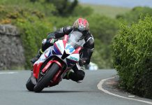 Dan Kneen on Jackson Racing Honda for 2018 Isle of Man TT