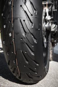 Michelin Road 5 Sport Touring Tire tread groove