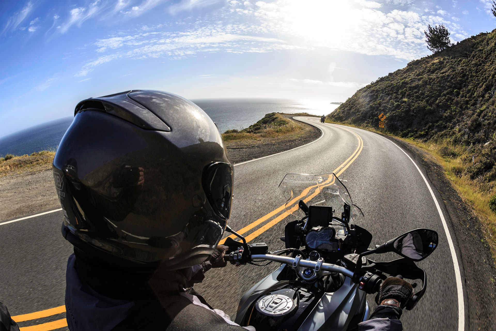 Mt. Tamalpais Park Highway Motorcycle Roads