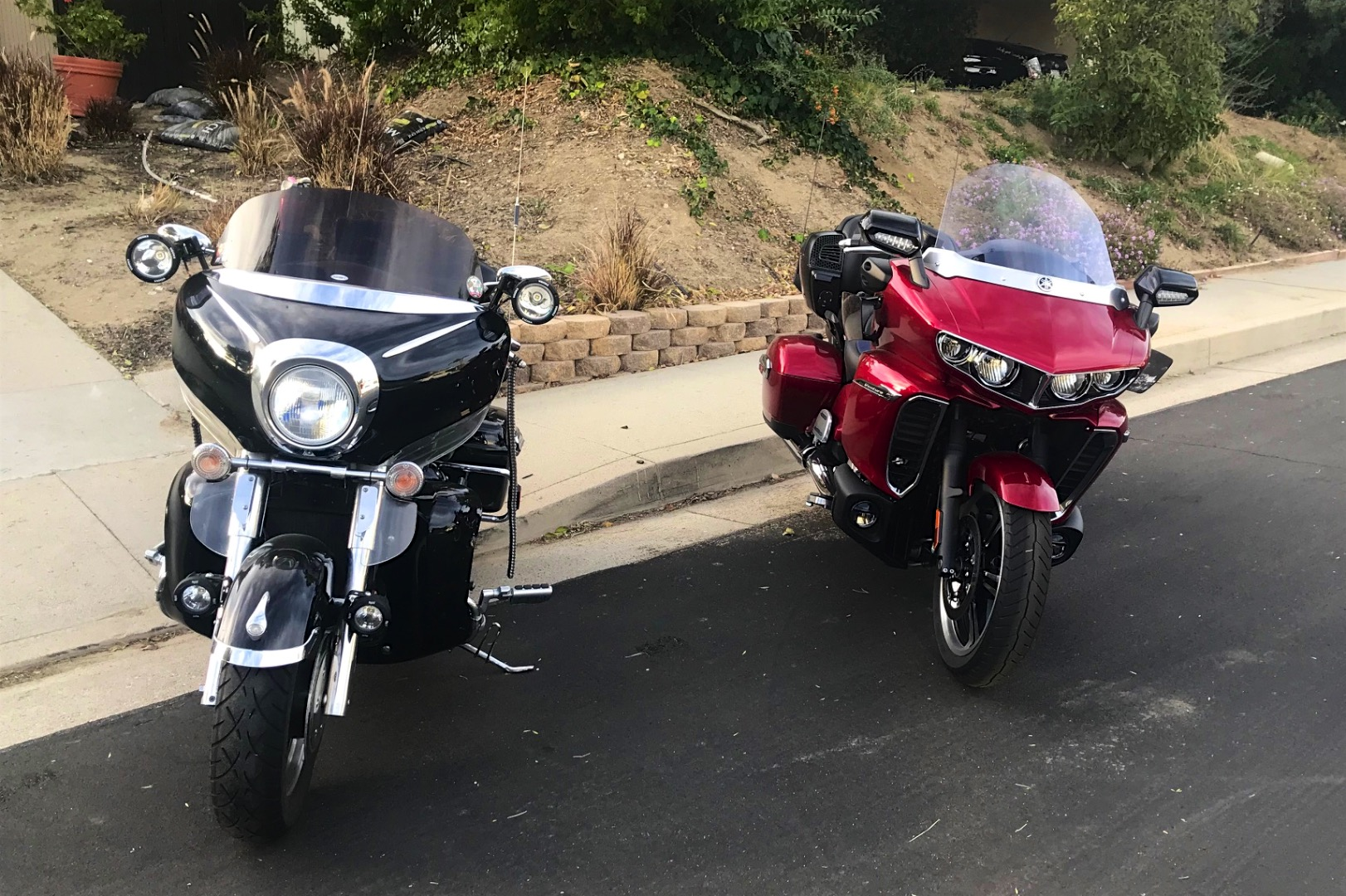 Iron Butt Comparison: 2018 Yamaha Star Venture vs Personalized 2007 Royal Star Venture