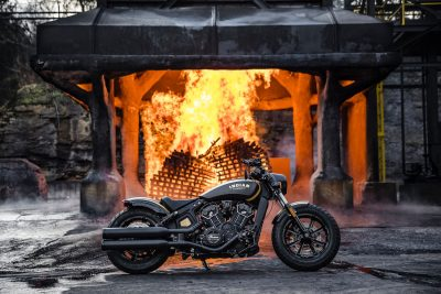 Jack Daniel's Limited Edition Indian Scout Bobber at Distillery