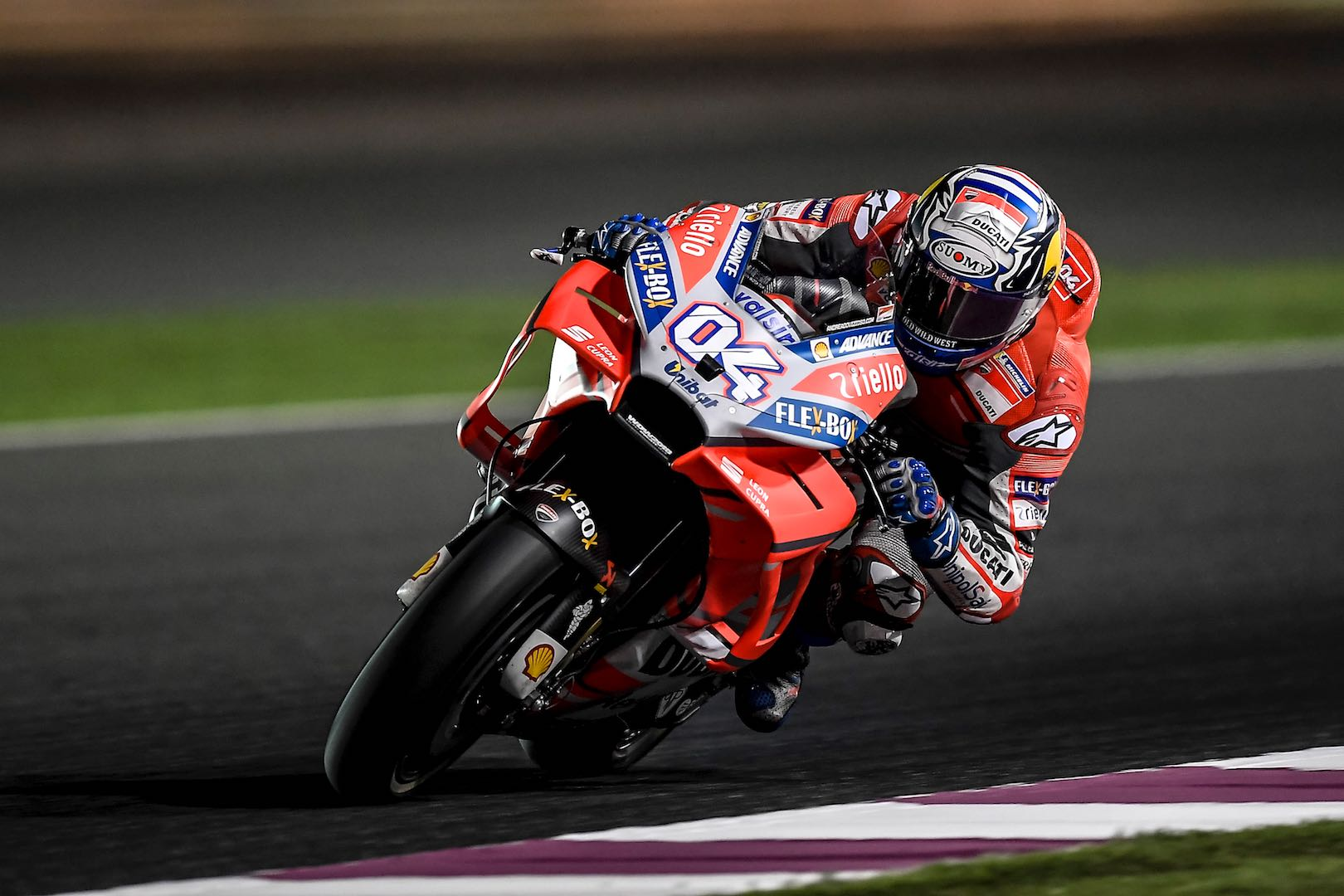 2018 Qatar MotoGP Test Day 1: Yamaha's Vinales Just Tops Ducati's Dovizioso