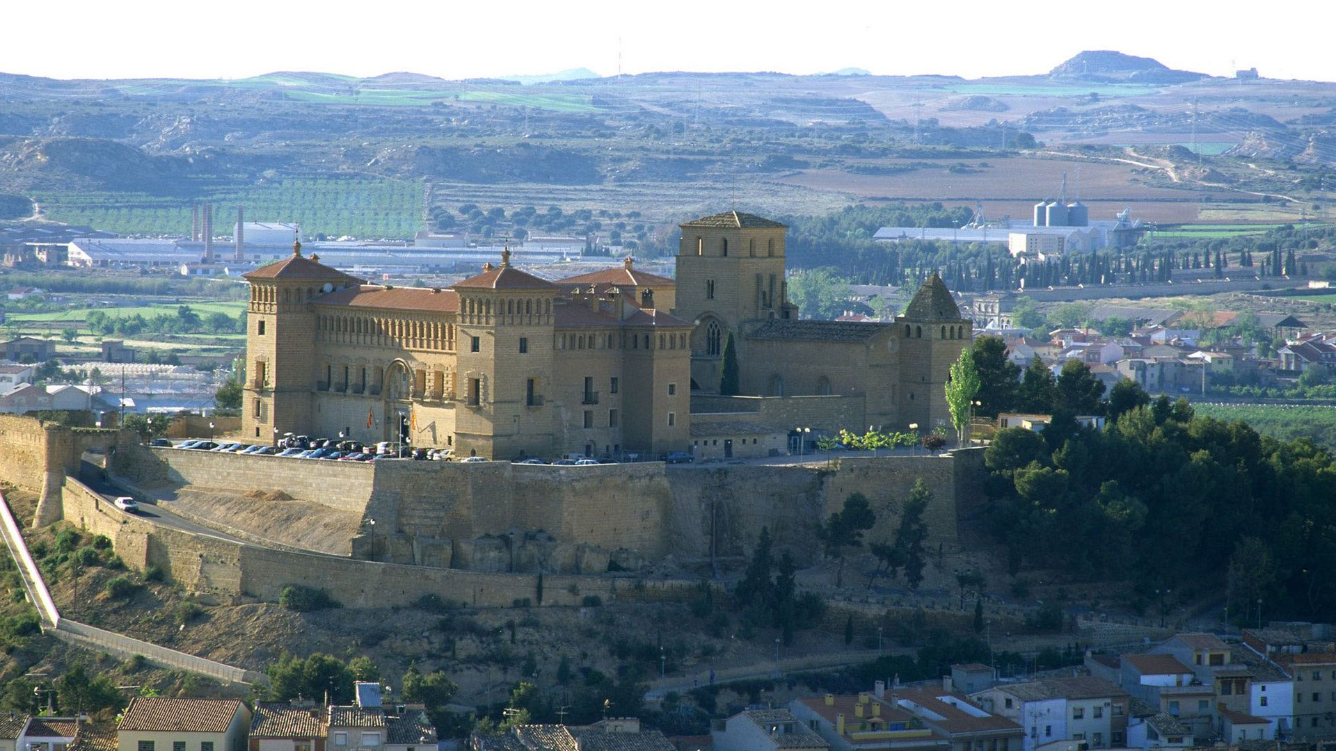 Spanish Castles as part of motorcycle tour
