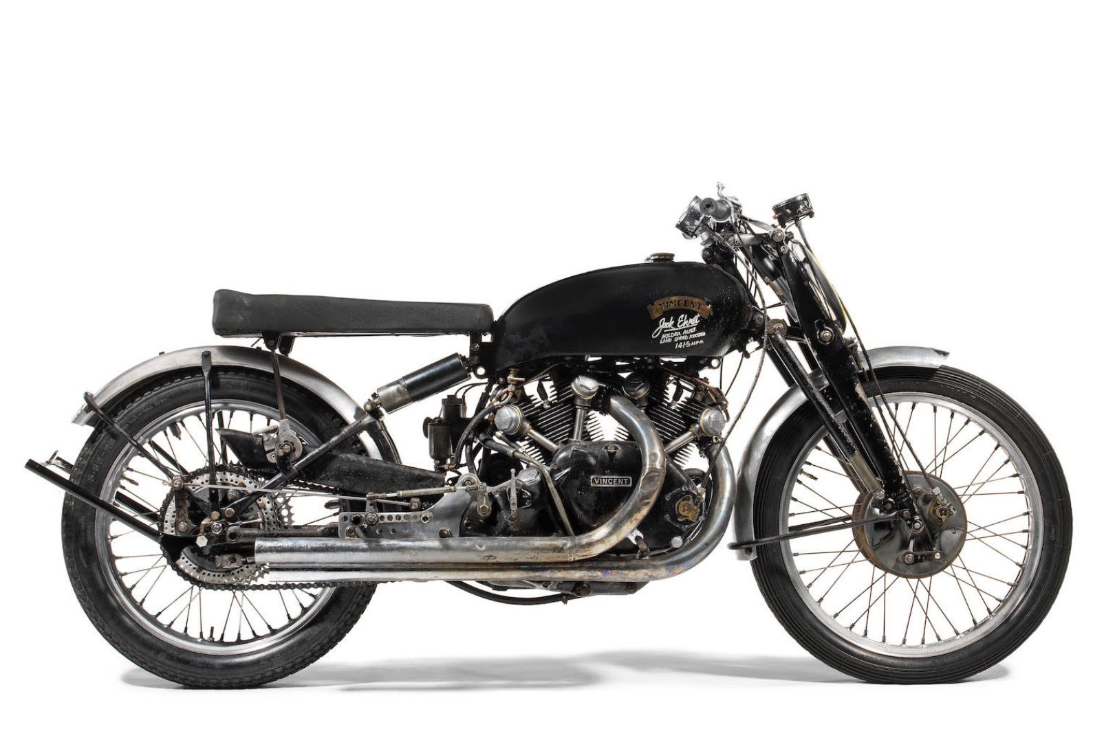 Top 10 Most Valuable Motorcycles: 1951 Vincent Black Lightning Tops List