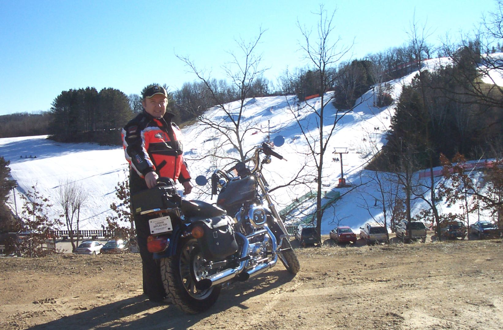 Wisconsin Winter Wonderland for Motorcyclists Sportster