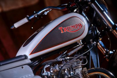 Mule Motorcycles' Mule Panther Cross triumph