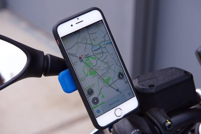 Quad Lock Smartphone Motorcycle Mount review