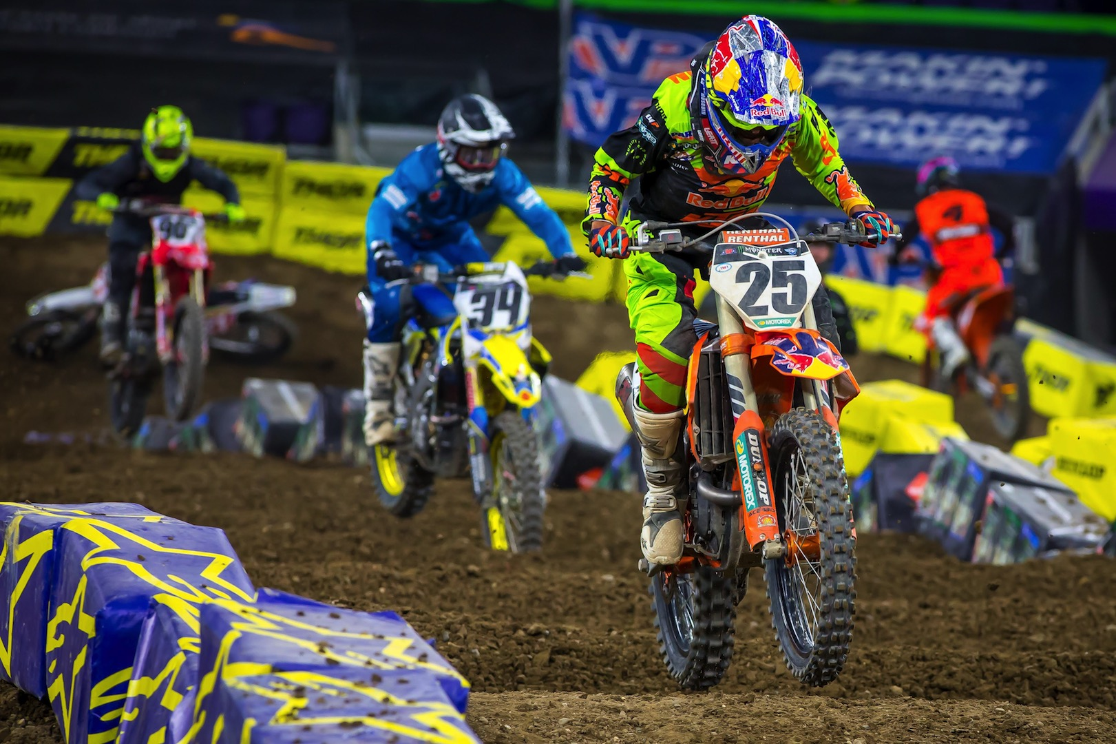2018 Minneapolis Supercross Results and Coverage - Musquin and Peick