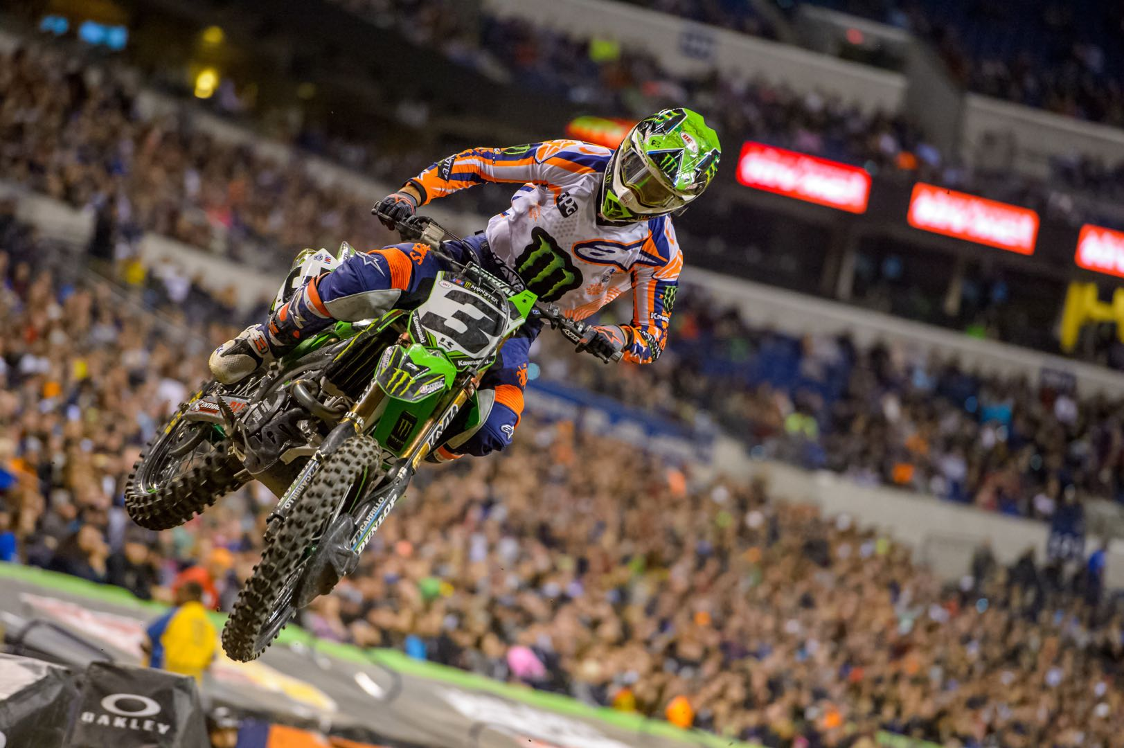 2018 Foxborough Supercross Preview Kawasaki's Eli Tomac