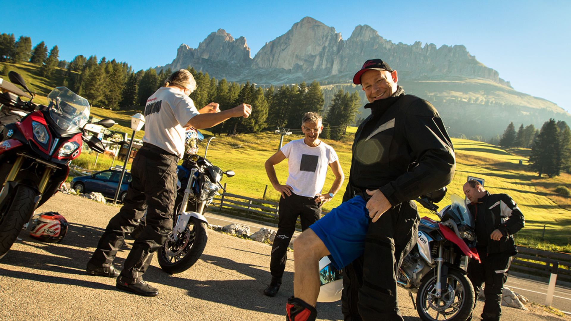 How to Train for a Motorcycle Tour Europe