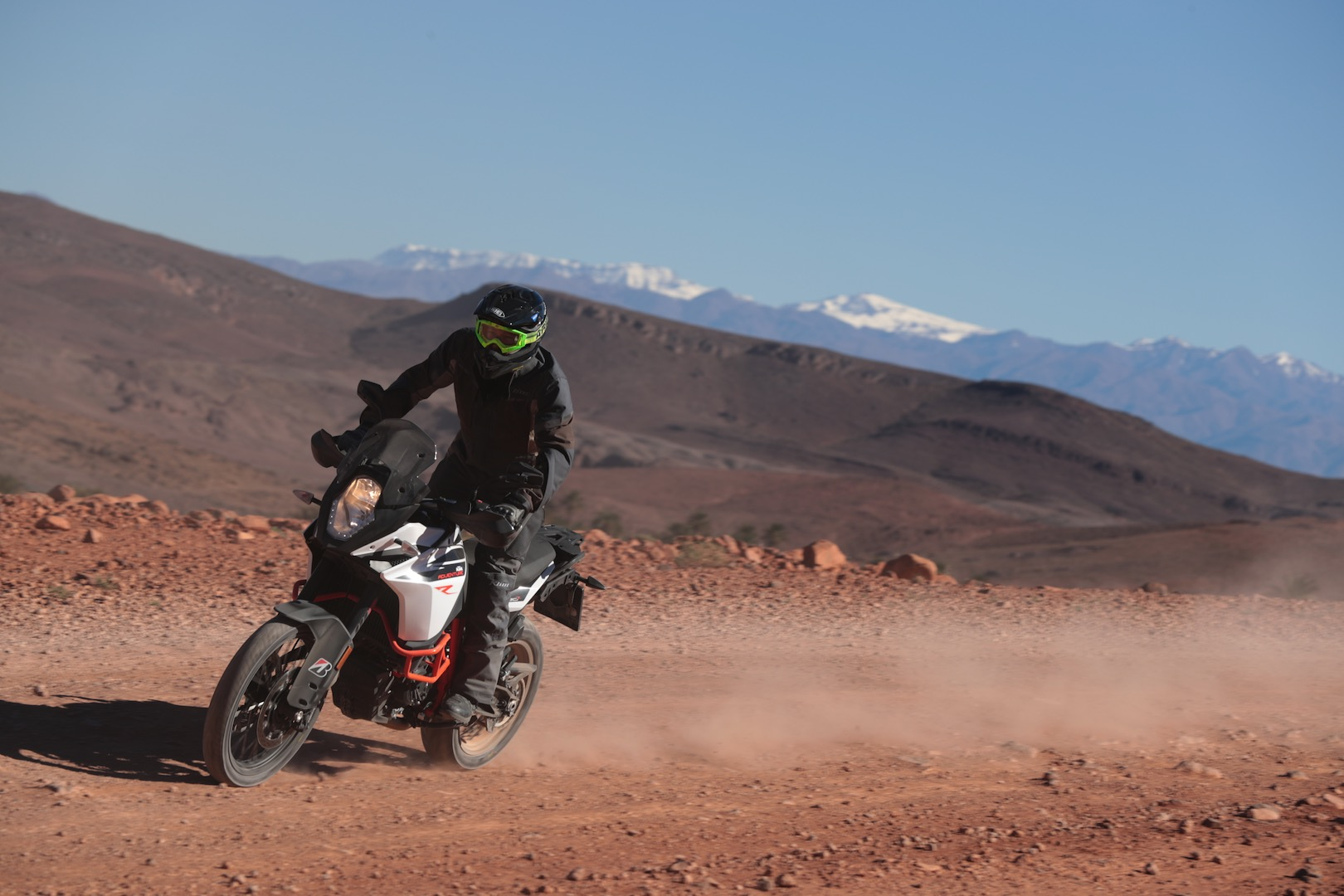 Bridgestone Battlax Adventure A41 review KTM 1090 Adventure R