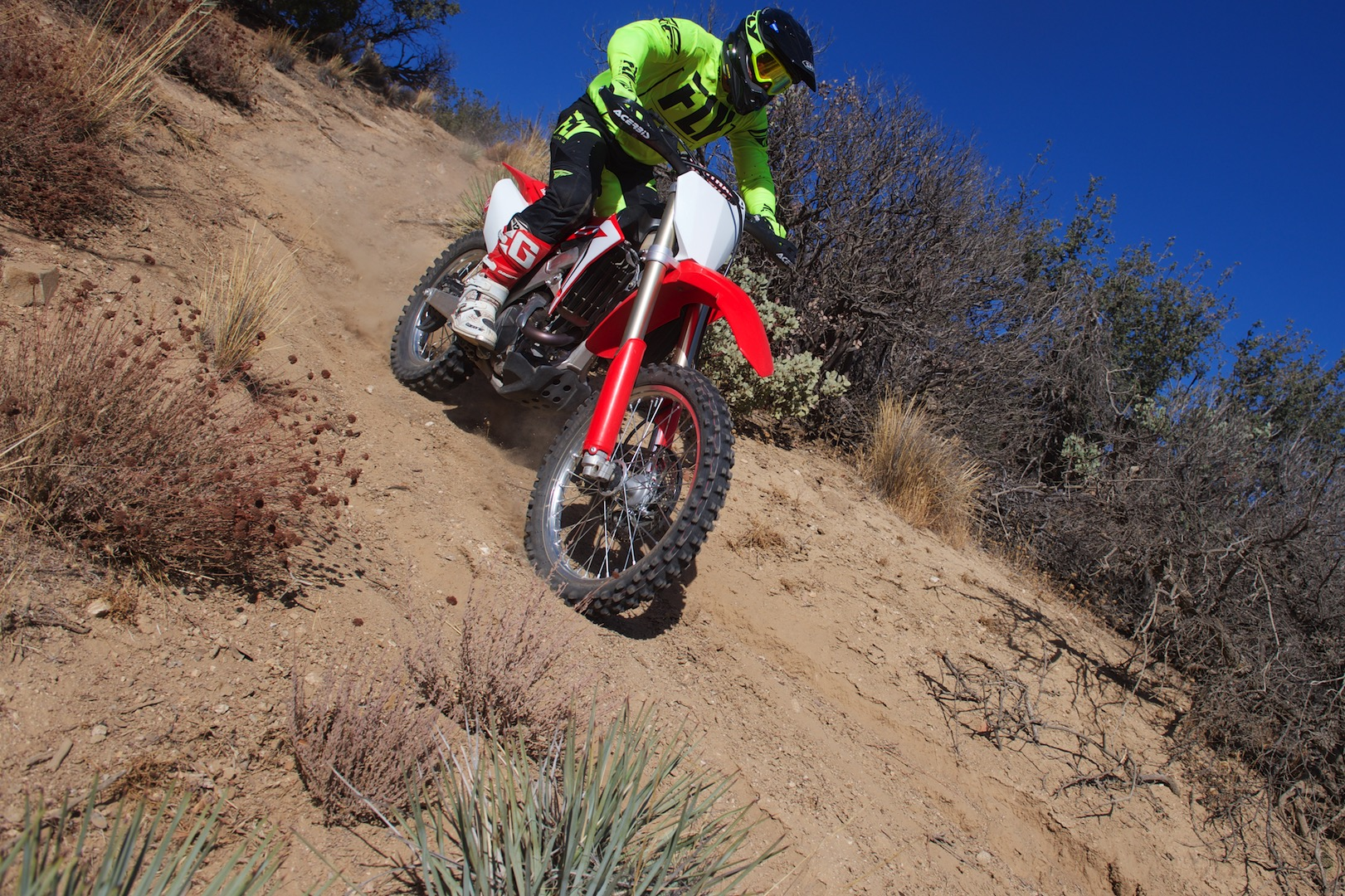 2018 Honda CRF450RX Project Bike tires