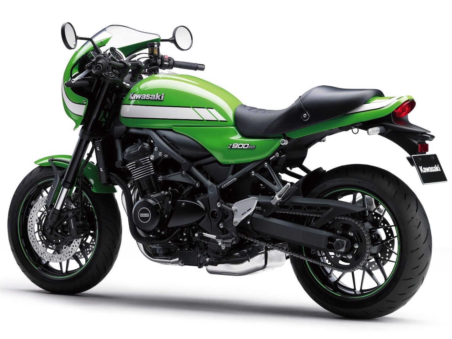 2018 Kawasaki Z900RS Café colors
