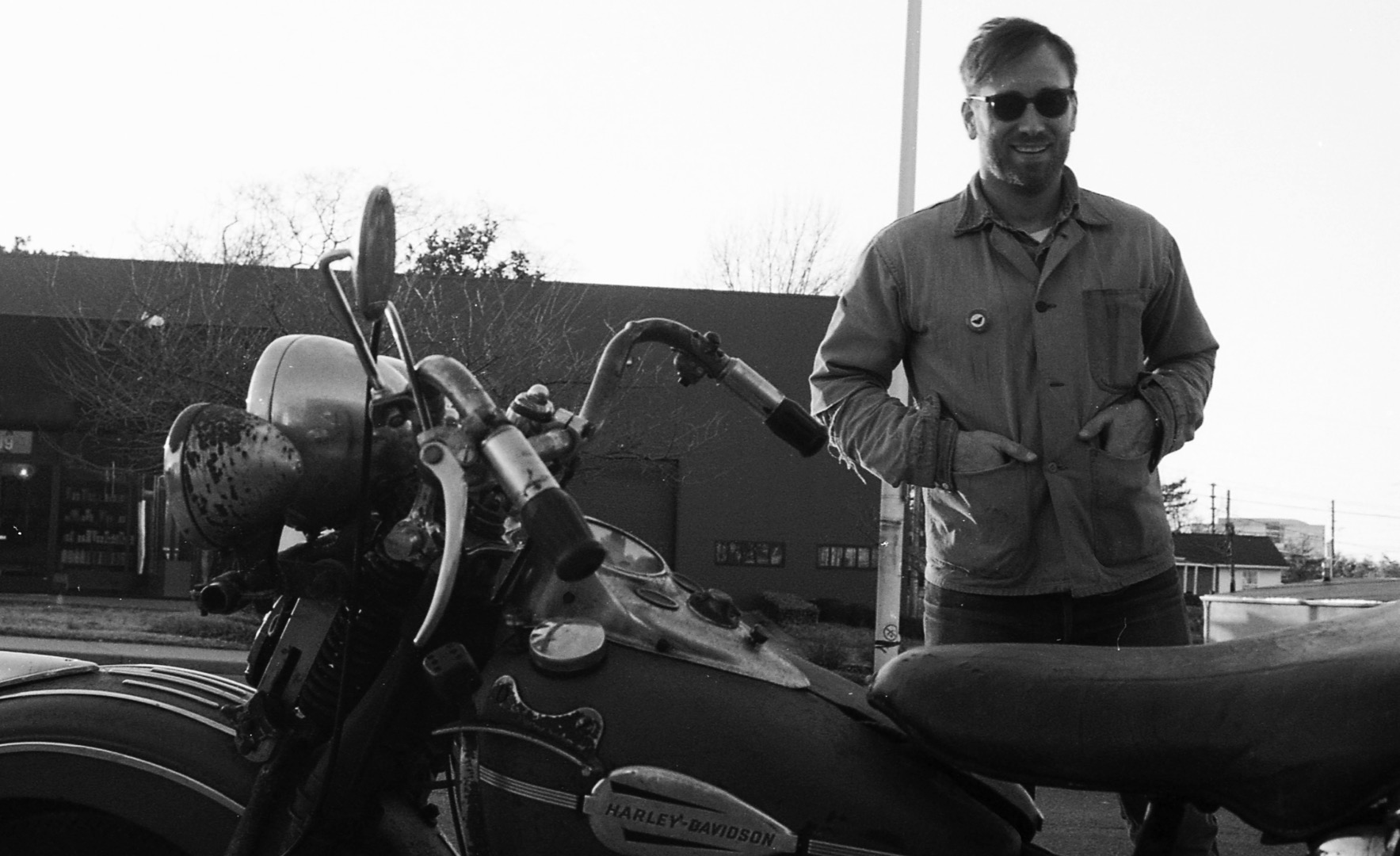 The Black Keys' Dan Auerbach's Vintage Harley-Davidson Collection