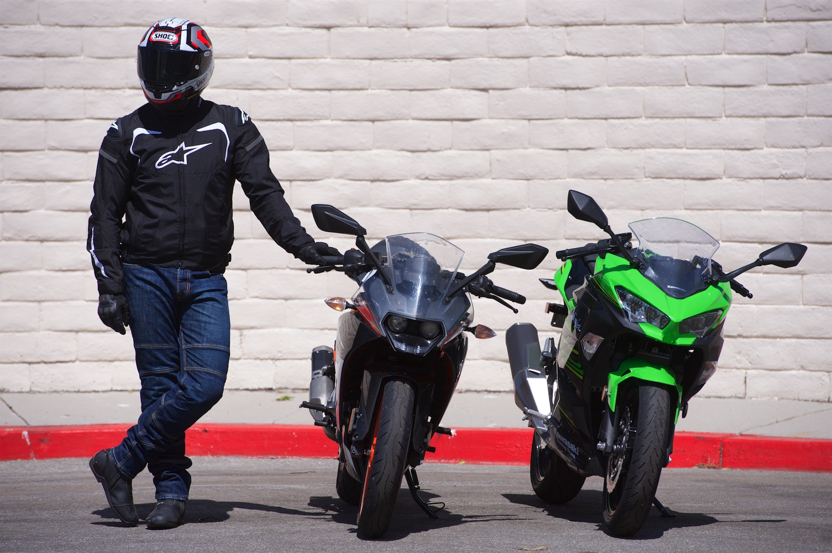 2018 KTM RC 390 vs. Kawasaki Ninja 400 winner