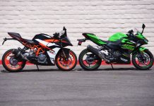 2018 KTM RC 390 vs. Kawasaki Ninja 400 Review
