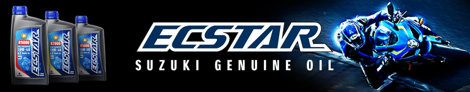 ECSTAR Suzuki motor oil designed for high-revving four stroke engines
