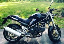Ducati Monster 900 S i.e. custom restoration