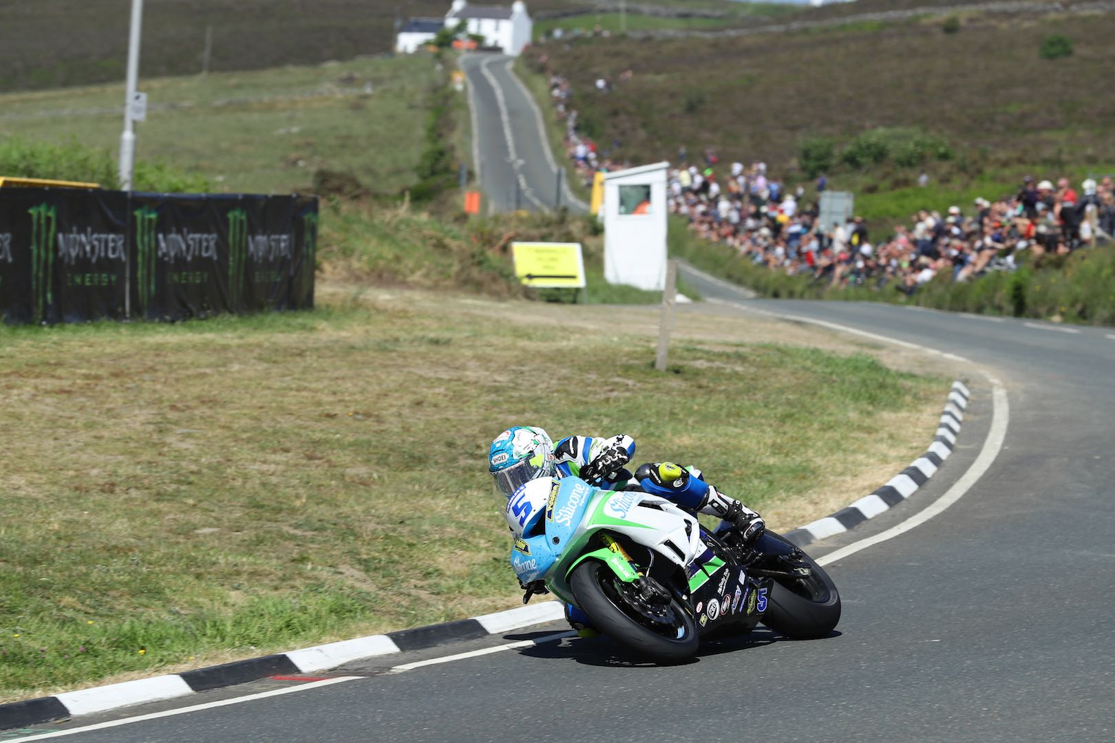 Isle of Man TT Supersport 2 Race Kawasaki's Dean Harrison