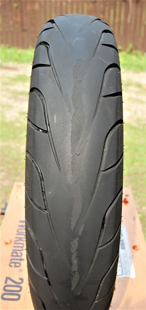 Michelin Commander II Review rear tire life