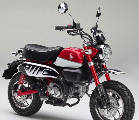 2019 Honda Monkey First Look: ABS Version