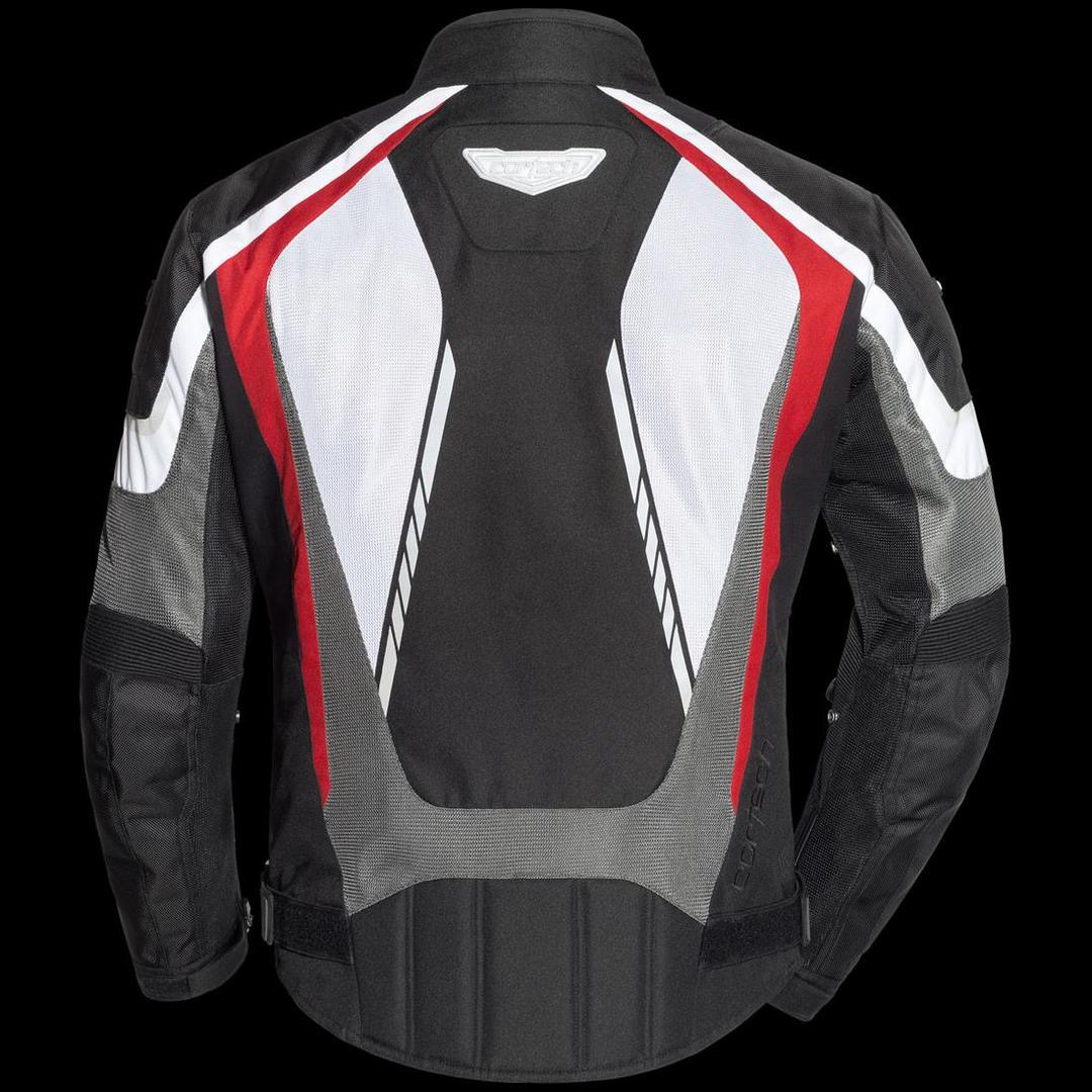 Cortech GX Sport Air 5.0 Mesh Jacket white red gray