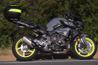Project Yamaha MT-10 Sport Tourer exhaust