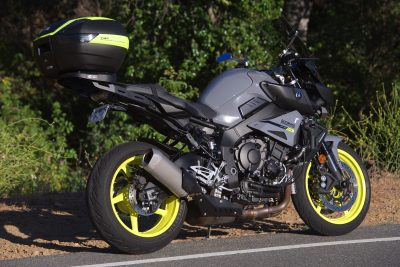 Project Yamaha MT-10 Sport Tourer comfort