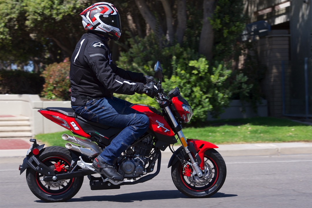 2018 Benelli TNT 135 vs 2018 Kawasaki Z125 Pro prices