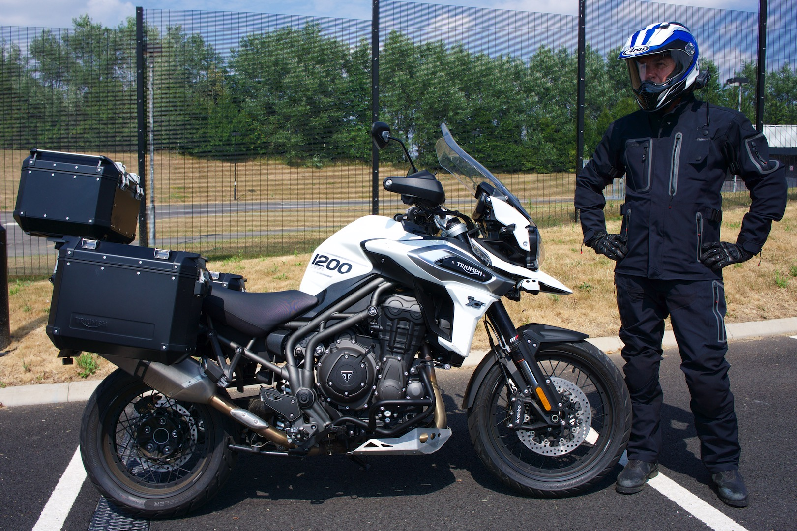 2018 Triumph Tiger 1200 Xca And 800 Xrx Review Touring Wales