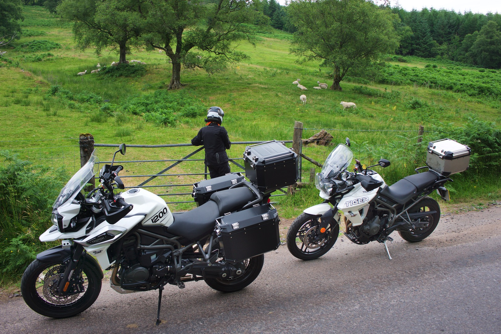 Breacon Beacons NP by Motorcycle