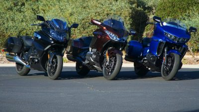 BMW K 1600 B vs Honda Gold Wing vs Star Eluder test
