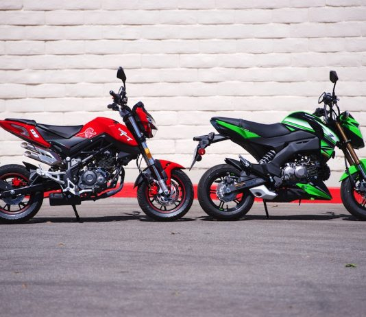 2018 Benelli TNT 135 vs 2018 Kawasaki Z125 Pro Comparison