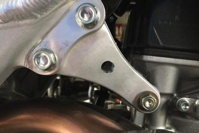 2018 Beta 125 RR Review chassis mounts