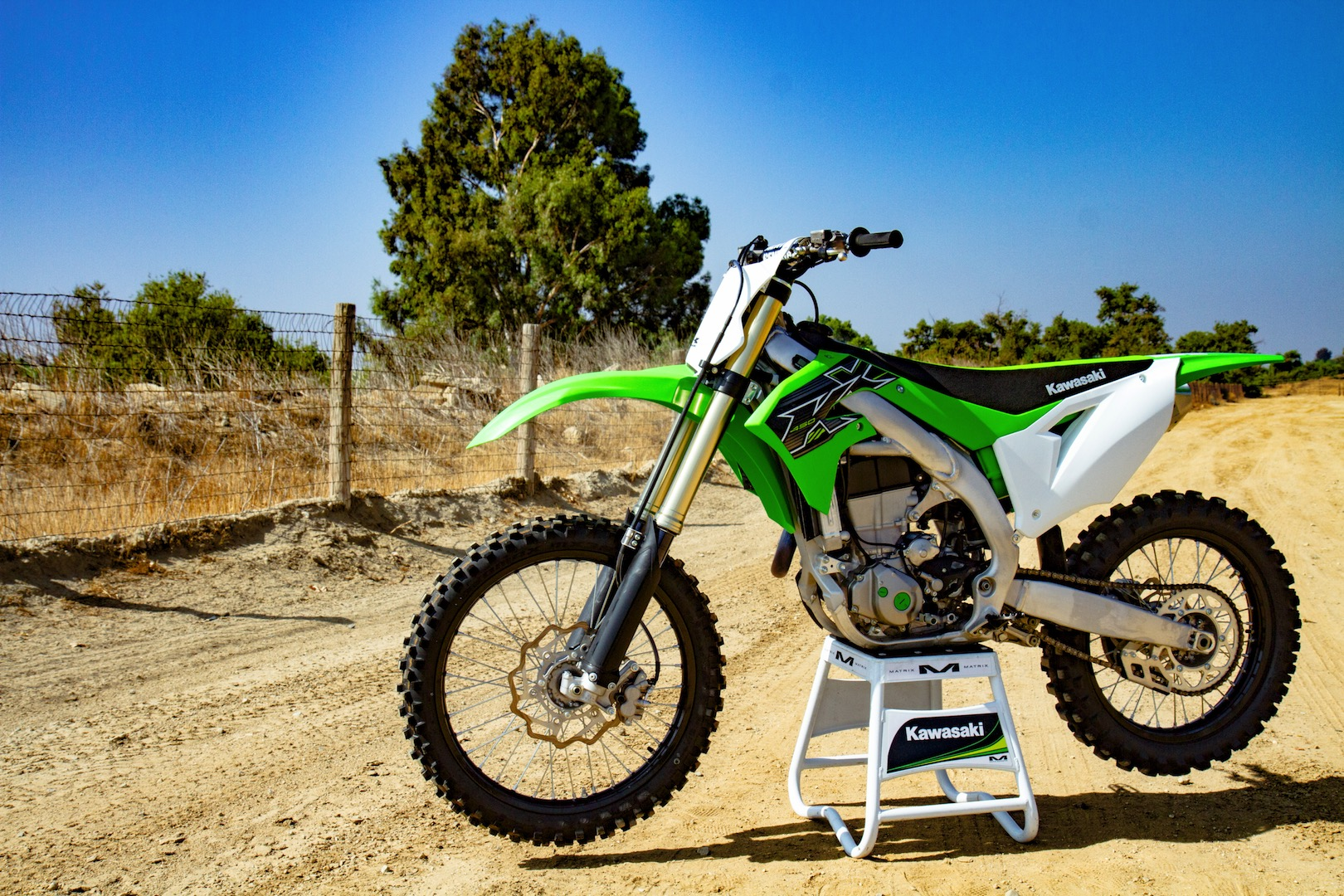 2019 Kawasaki KX450 seat height