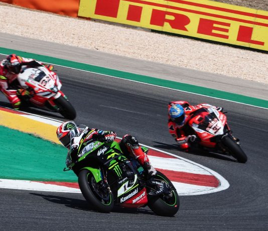 Kawasaki's Rea Goes 2-for-2 at 2018 Portimao World Superbike