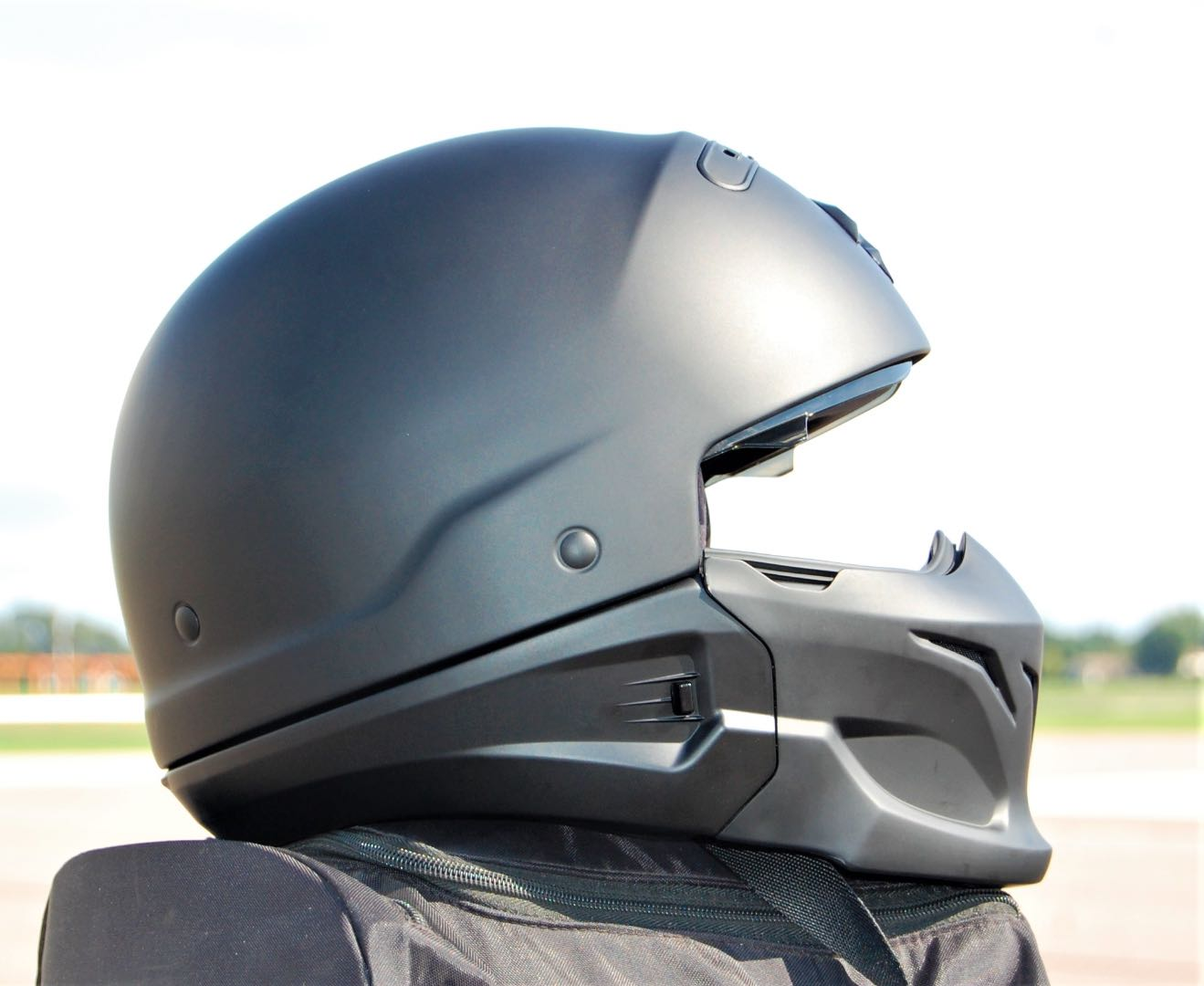 scorpion covert 3 in 1 helmet review half helmet versatility. Black Bedroom Furniture Sets. Home Design Ideas