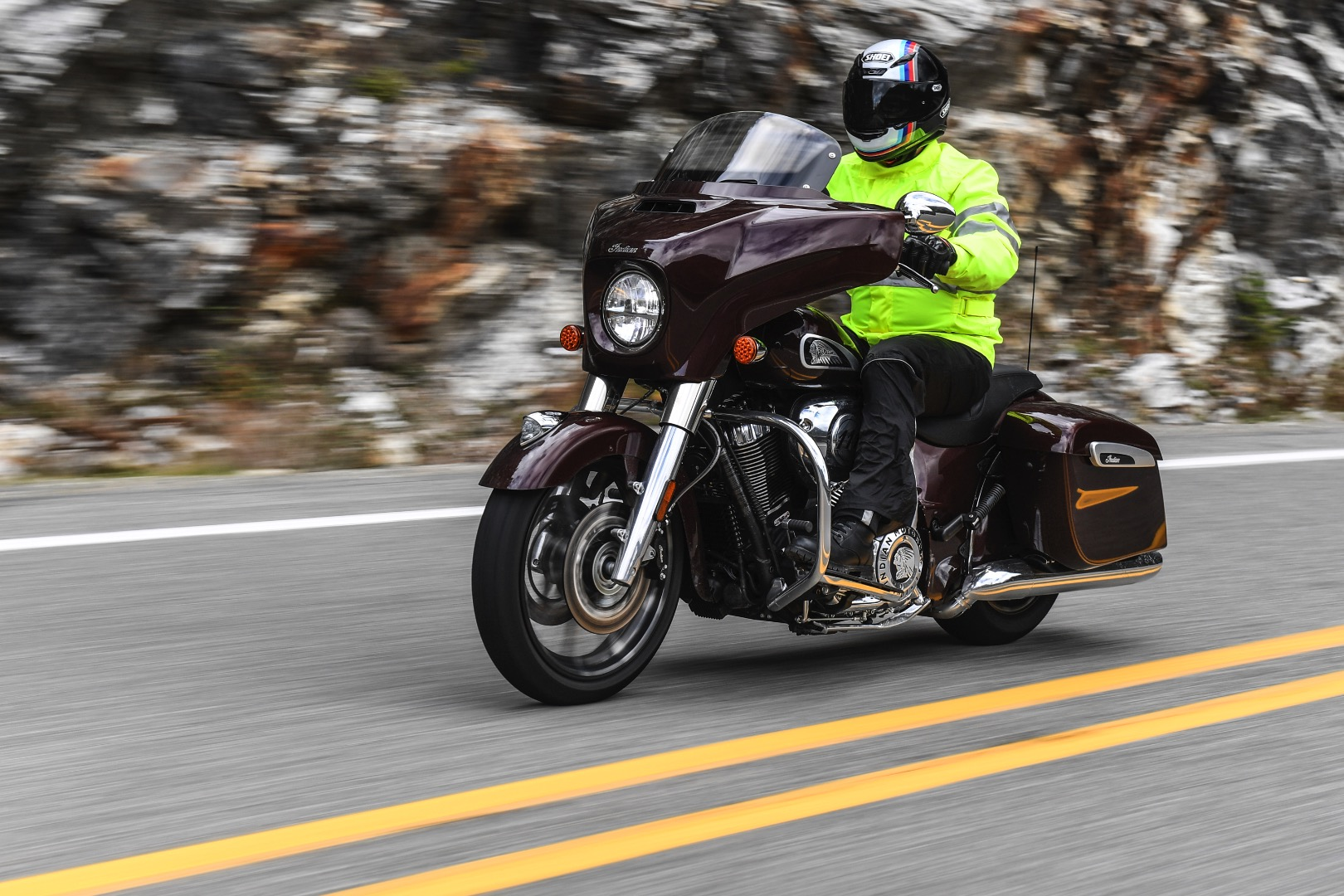 : 2019 Indian Chieftain Limited rain