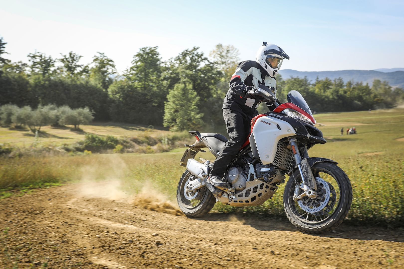 2019 Ducati Multistrada 1260 Enduro testing off road