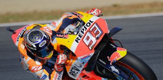Marc Marquez on RC213V Repsol Honda