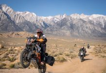 KTM & Backcountry Discovery Routes Partner to Create SoCal and Wyoming Routes