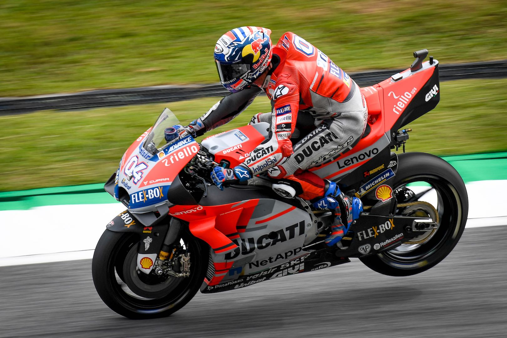 Top 3 Within a Tenth at Malaysia MotoGP Friday (Suzuki's Rins Quickest) Ducati Andrea Dovizioso