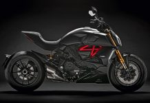 2019 Ducati Diavel 1260 side look