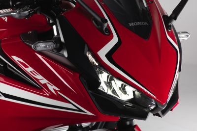 2019 Honda CBR500R LED lights